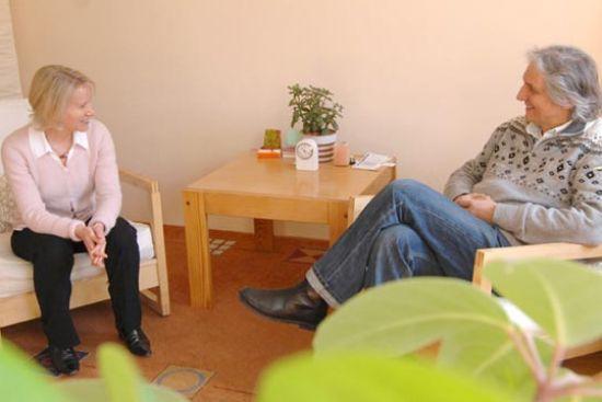 Anne Witt und Dr. phil Georg Klaus