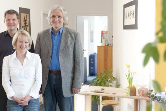 Sven Angersbach, Anne Witt und Dr.phil Georg Klaus